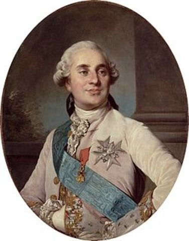 Coronación de Luis XVI