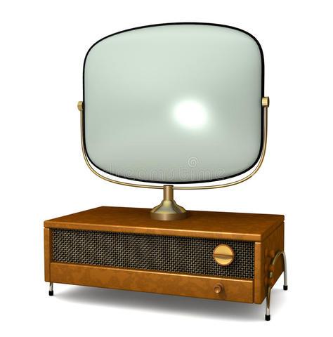 Surgimento da televisão