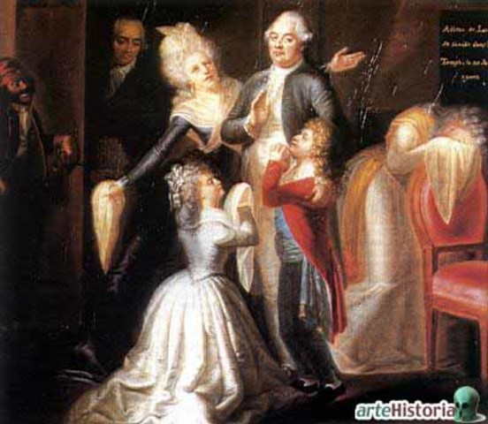 Huida de la familia real