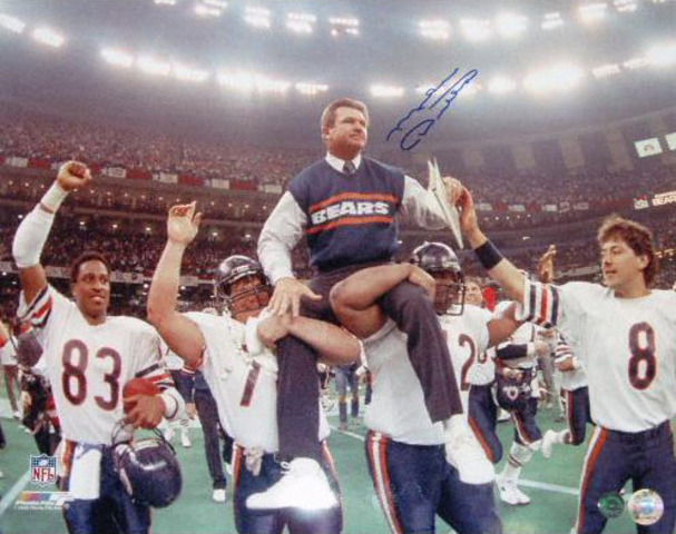 Mike Ditka wins Super Bowl 20 with the Bears