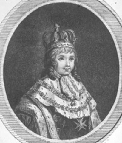 Fallece el Rey Luis XVII