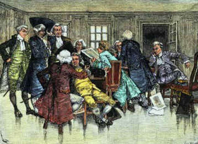Massachusetts Government Act -Intolerable Act-
