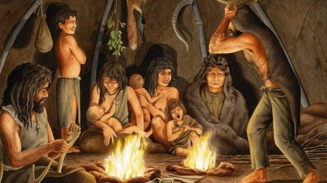 Hallazgos de tribus ágrafas (800-900 aprox.)