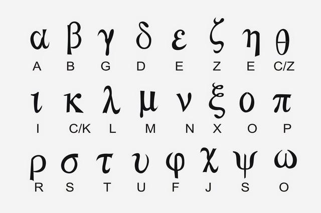 La escritura alfabética aparece en Grecia