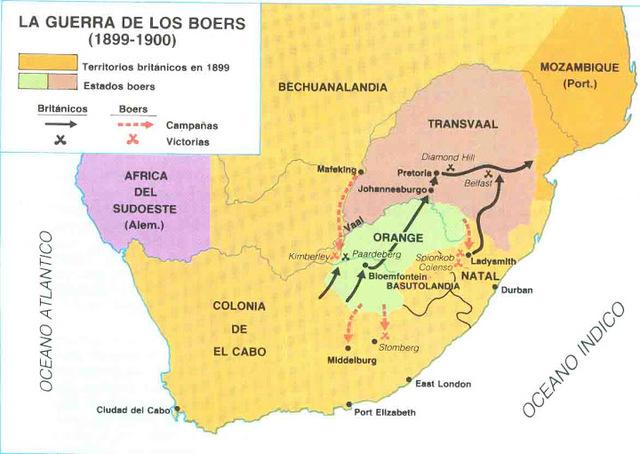 CAUSA SEGUNDA GUERRA DE LOS BOERS