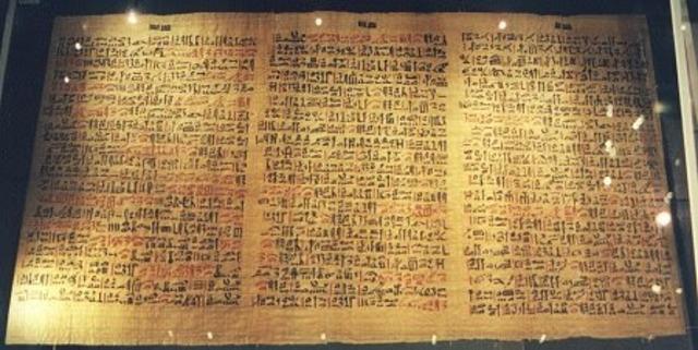 El papiro de Ebers y Edwin