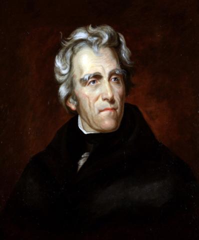 Den amerikanske præsident Jackson beslutter at de civiliserede stammers område skal koloniseres af europæiske amerikaner