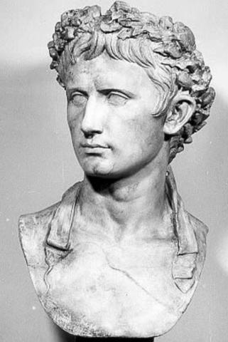 Octavian (Augustus) kom til magten, og gennemførte sin fars program.