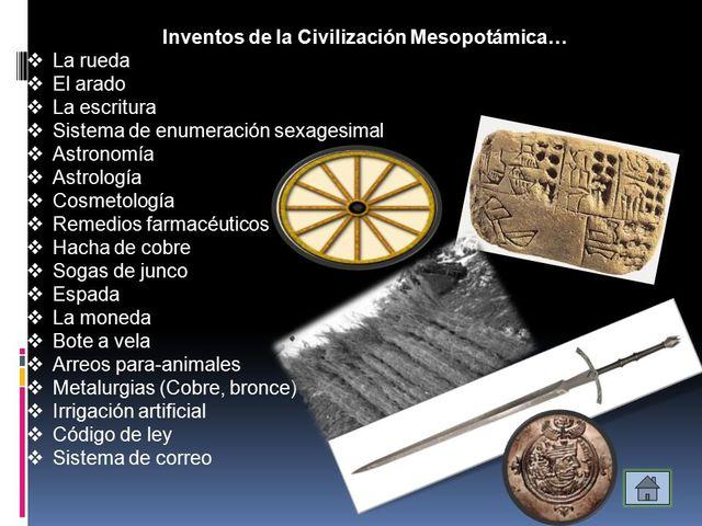 Edad Antigua- Mesopotamia
