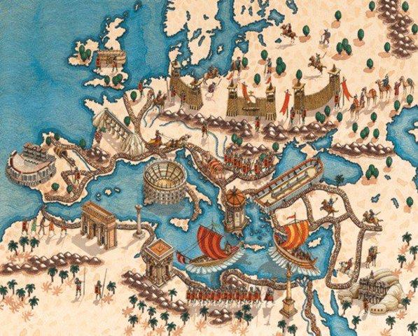 Edad Media- Caída del Imperio Romano Occidental