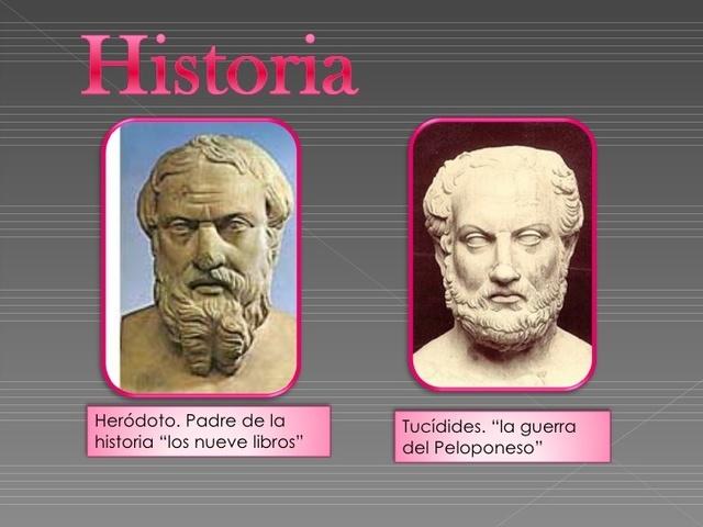 Edad Antigua- Herodoto y Tucídes