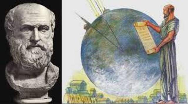 Edad Antigua- Redondez de la Tierra