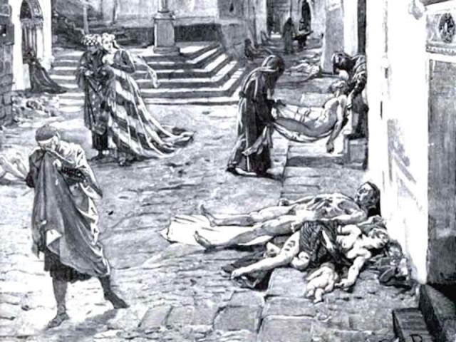 Edad Media-Renacimiento La Peste Negra