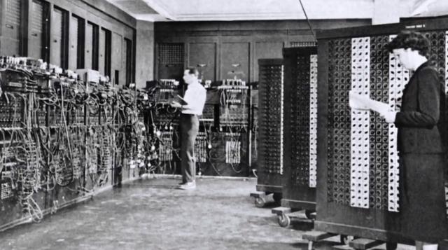 Construcion de la ENIAC