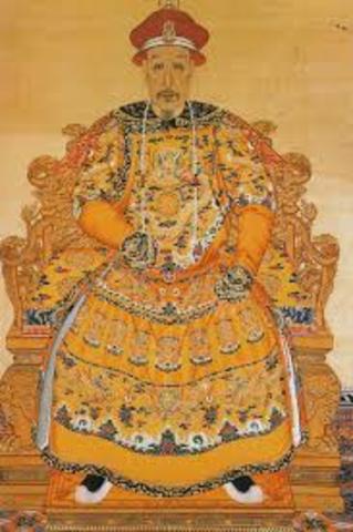 Las primeras dinastías del antiguo imperio chino.
