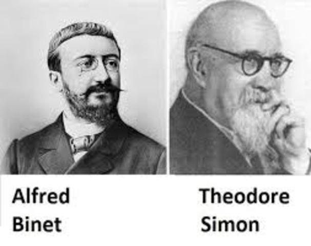 Alfred Binet y Théodore Simon.