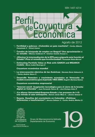 Publicación en Revista Coyuntura Económica