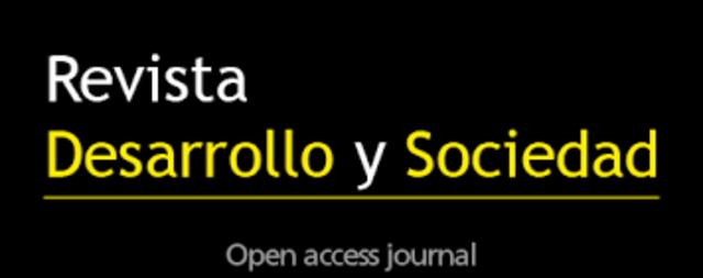 Publicaciones en Revista Desarrollo y Sociedad