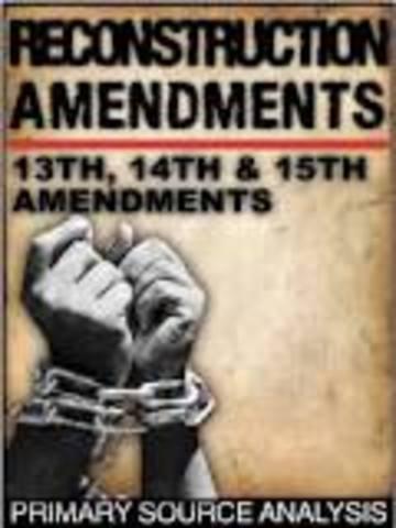 """Civil War Amendments"" (13th,14th,15th)"