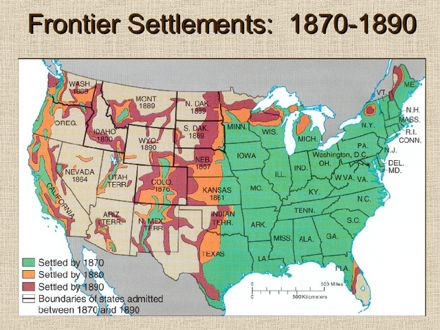 Closing of the Western Frontier