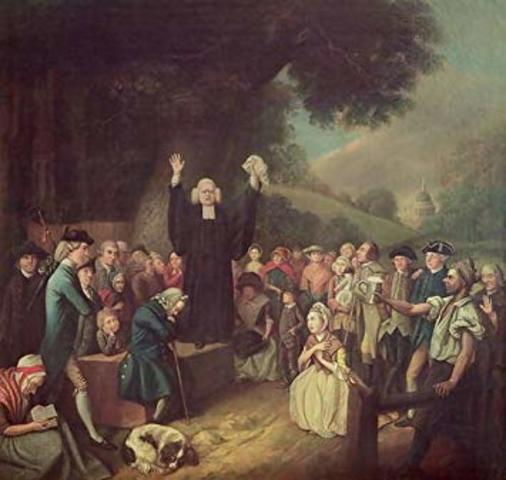 George Whitefield's Preaching Tour