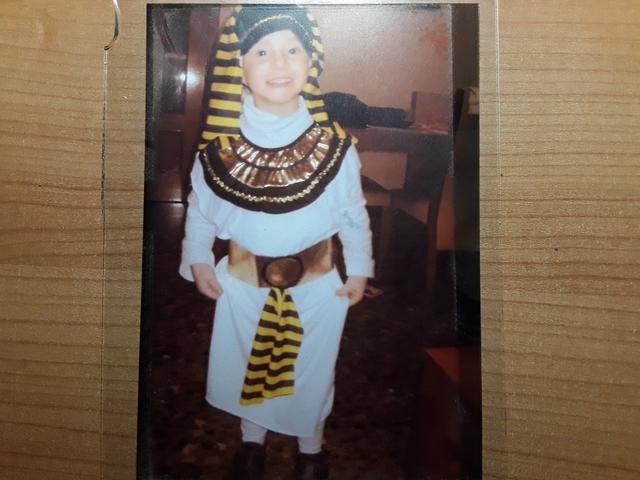 la meva primera disfressa