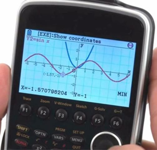 1985 - Calculadora gráfica