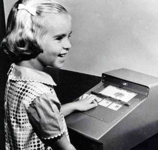 1957 - Máquina de ensinar