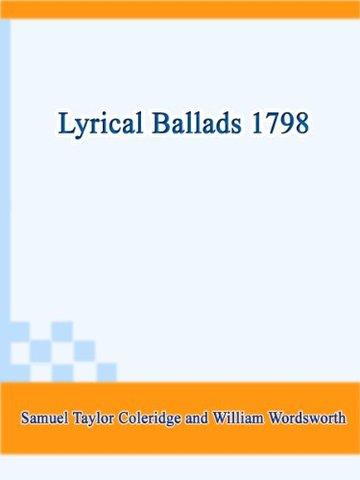 Wordsworth and Coleridge, lyrical ballads