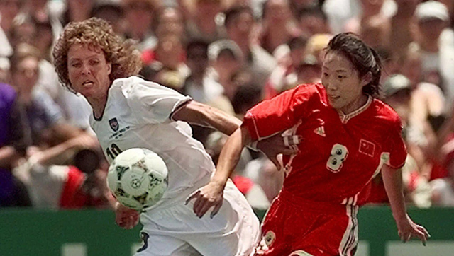 First Female World Cup