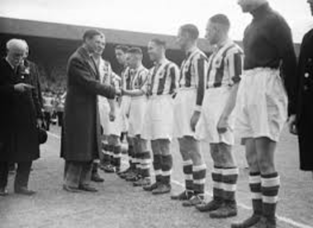 FA Cup televised for frist time