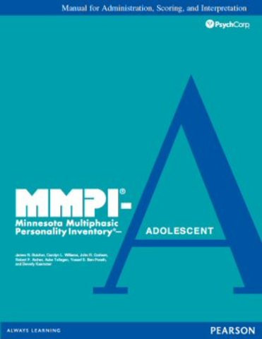 """""""MINNESOTA MULTIPHASIC PERSONALITY INVENTORY MMPI"""""""