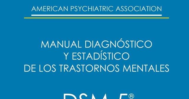 """""""MANUAL DIAGNÓSTICO Y ESTADÍSTICO DSM I"""