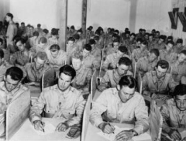 American Psychological Associatio se integra a la Primera Guerra Mundial.