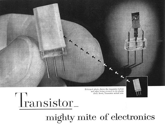 Invento del transitor