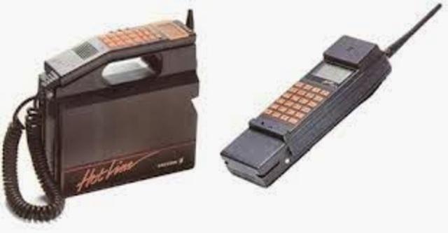 Primer sistema de telefonía móvil