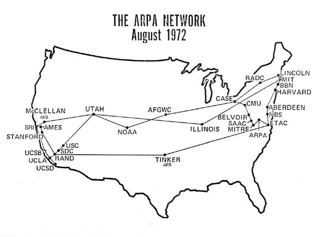 Demostración pública del ARPANET