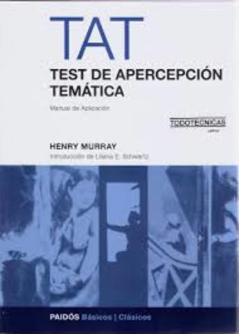 Murray y Morgan presentan su teoría de personalidad y su prueba proyectiva, el test de apercepción temática (TAT).