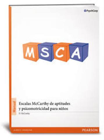 Mccarthy edita sus escalas de aptitudes y psicomotricidad para niños