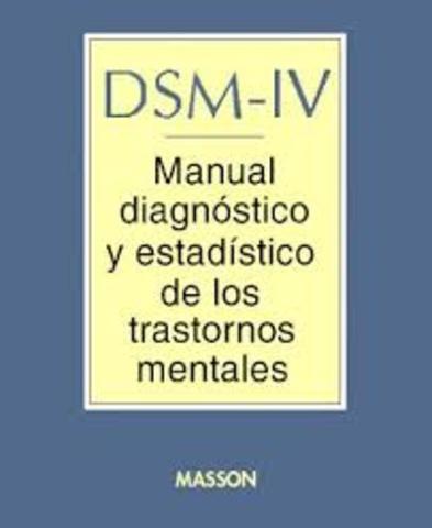 la asociación psiquiátrica americana publica el DSM - IV