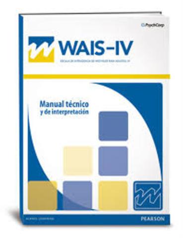 el manual moderno publica con normas para mexico la escala de inteligencia para adultos WAIS - IV