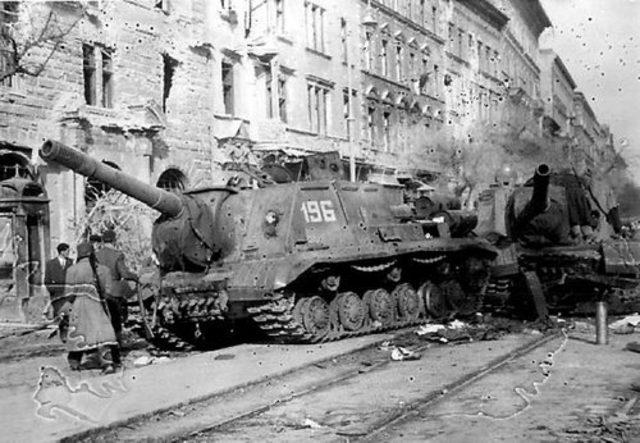 El supuesto cese al fuego en Hungría.