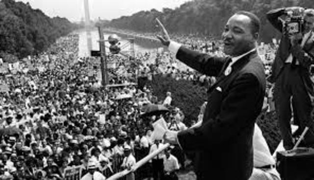 Muerte de Martin Luther King.