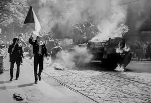 Inicio de manifestaciones en Polonia.