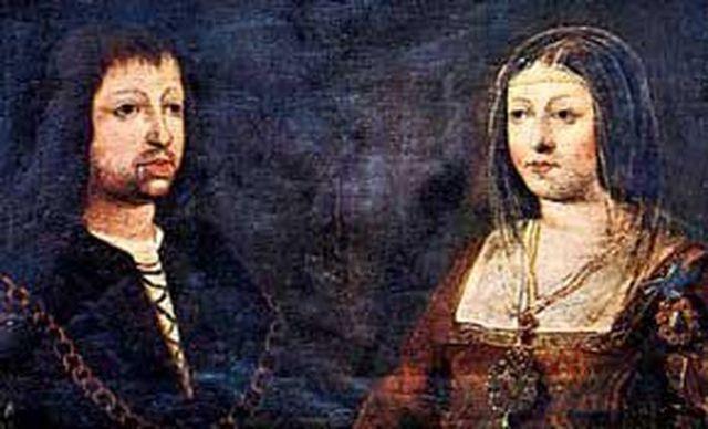 mariage de Ferdinand d'Aragon et d'Isabelle de Castille