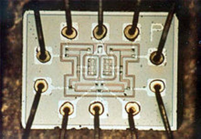 Nace el Circuito integrado-1959