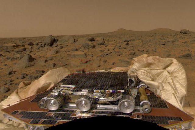 Mars Pathfinder.