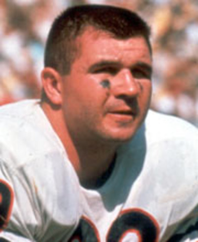 Mike Ditka is drafted in the 1st round by the Chicago Bears