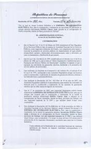Se decreta la ley relacionado con la explotación de empresas hidroeléctricas