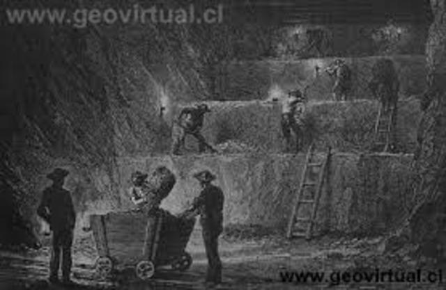 Se promulga la ley de Minería
